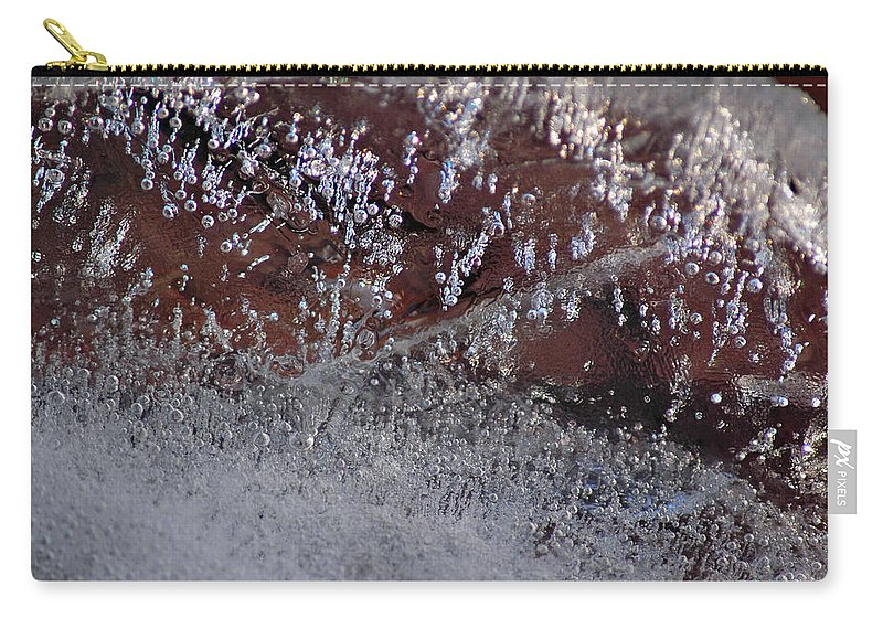 Cities Carry-all Pouch featuring the photograph Natures Best Etching by LeeAnn McLaneGoetz McLaneGoetzStudioLLCcom