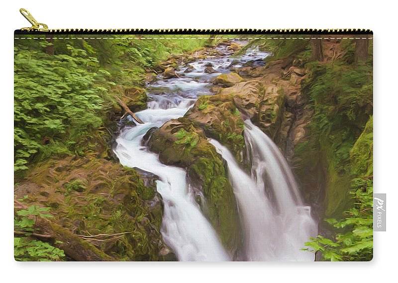 Carry-all Pouch featuring the photograph Nature's Majesty by Heidi Smith