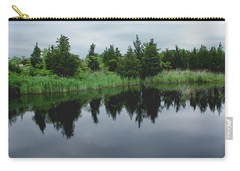 Woods Carry-all Pouch featuring the photograph Natures Mirror by Heather Applegate
