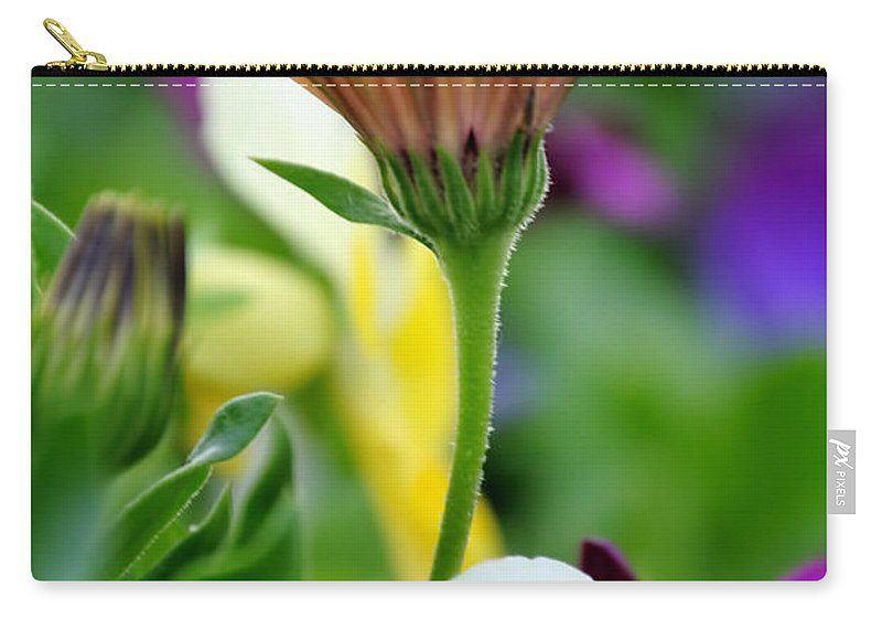 Carry-all Pouch featuring the photograph Natures Yoga by Michael Frank Jr