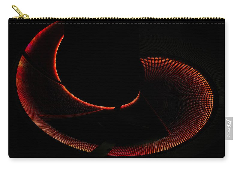 Art Carry-all Pouch featuring the photograph Nautilus by David Lee Thompson