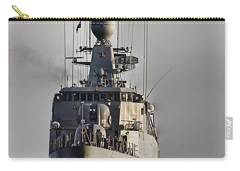 Naval Joint Operations Carry-all Pouch featuring the photograph Naval Joint Operations V6 by Douglas Barnard