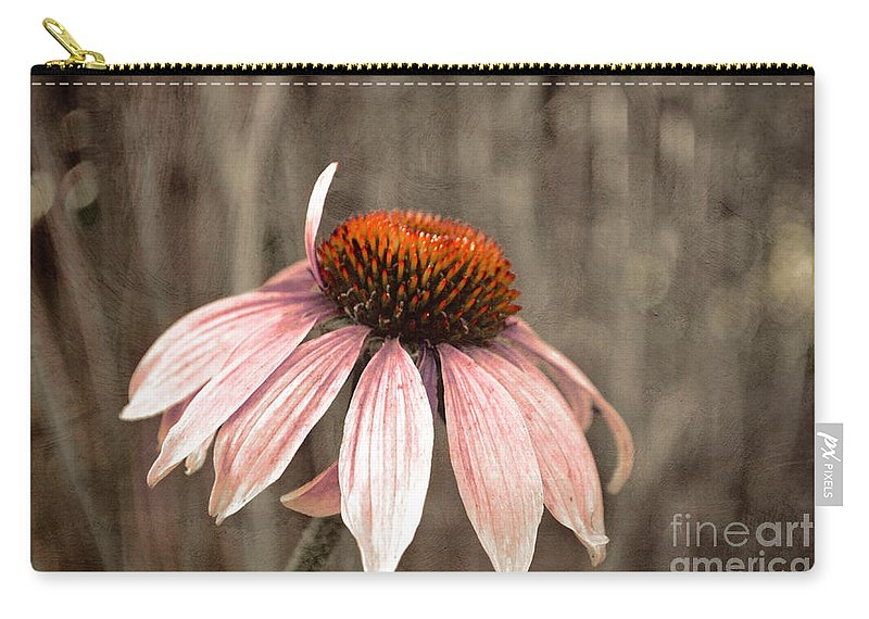 Flower Carry-all Pouch featuring the photograph Nearing The End by Tara Turner