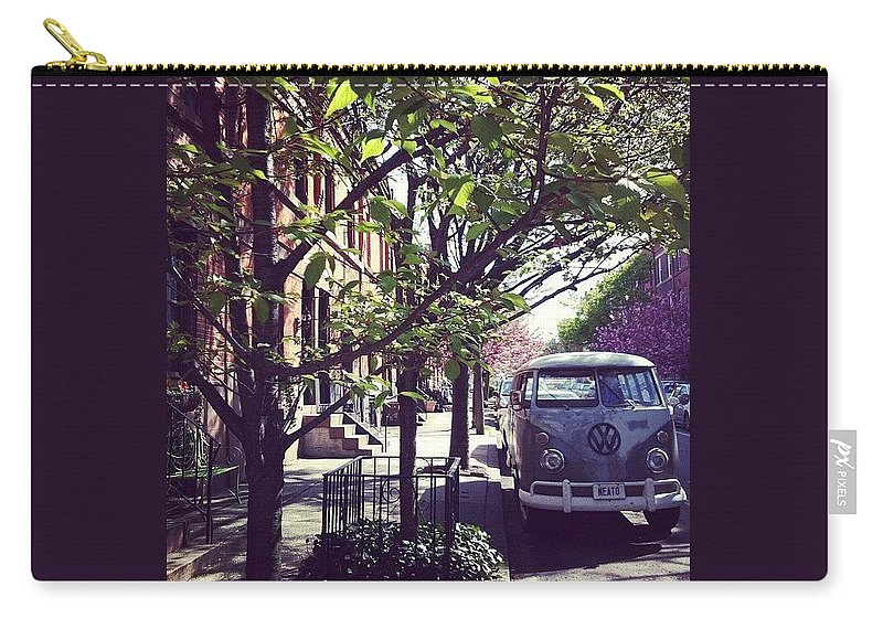 Van Carry-all Pouch featuring the photograph Neato by Katie Cupcakes