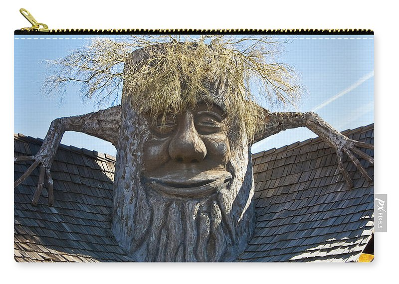 Clever Carry-all Pouch featuring the photograph Need A Bigger House by Jon Berghoff