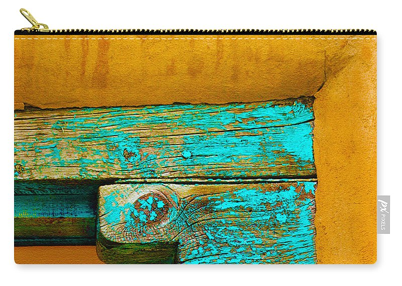 Wood Carry-all Pouch featuring the photograph Needs Paint by Terry Fiala