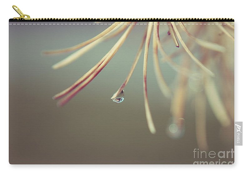 Green Carry-all Pouch featuring the photograph Neigerelle - 06b by Variance Collections