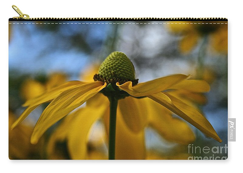 Plant Carry-all Pouch featuring the photograph New Cone Flower by Susan Herber