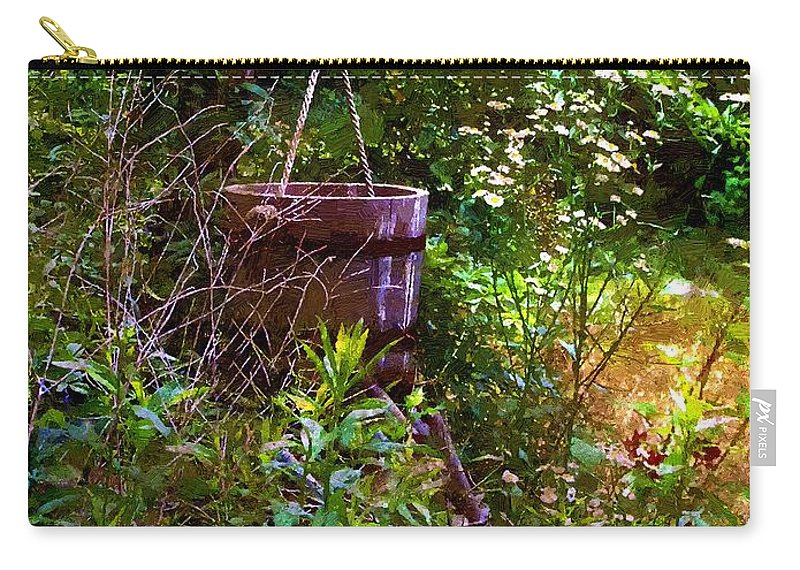 Well Carry-all Pouch featuring the painting New England Idyll II by RC DeWinter