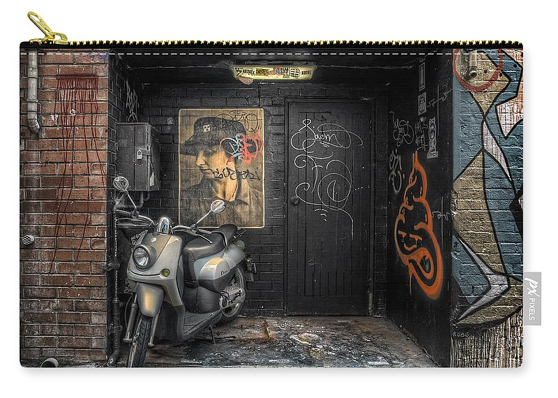 Niche Carry-all Pouch featuring the photograph Niche by Wayne Sherriff