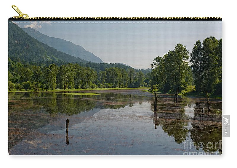Beautiful Bc Carry-all Pouch featuring the photograph Nicomen Slough 2 by Rod Wiens