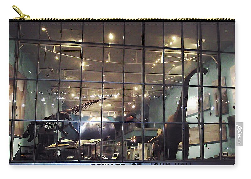 2d Carry-all Pouch featuring the photograph Night At The Museum by Brian Wallace