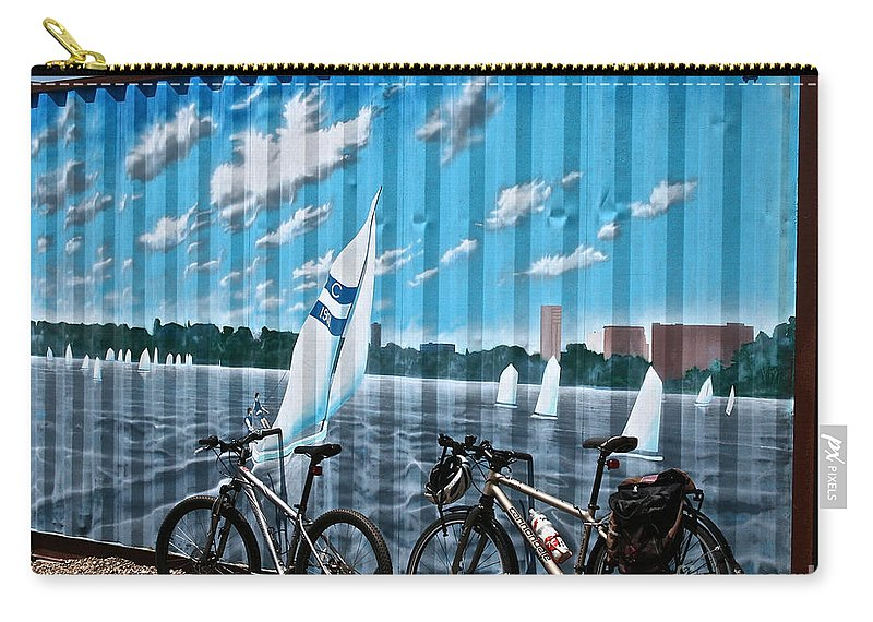 Minnesota Carry-all Pouch featuring the photograph No Fossil Fuels Required by Susan Herber