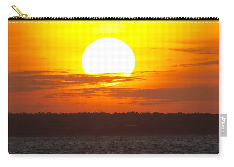 North Australian Carry-all Pouch featuring the photograph North Australian Sunset by Douglas Barnard