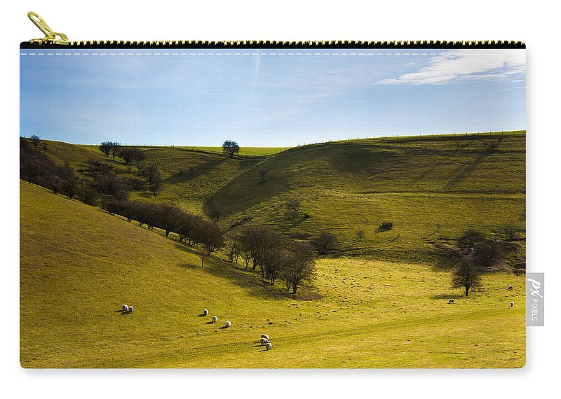 Animal Carry-all Pouch featuring the photograph North Yorkshire by Svetlana Sewell