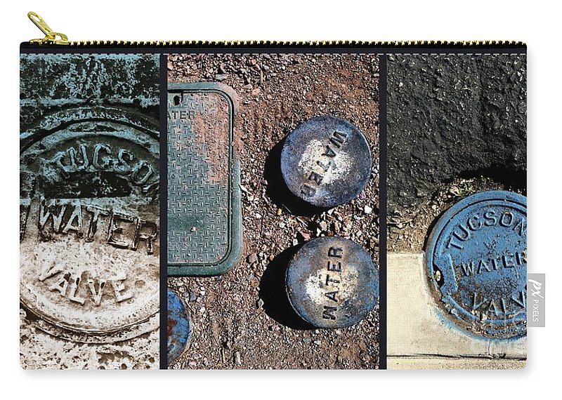 Tucson Carry-all Pouch featuring the photograph Not A Mirage by Marlene Burns