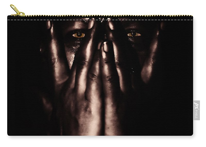 Adult Carry-all Pouch featuring the photograph Not My Dark Soul.. by Stelios Kleanthous