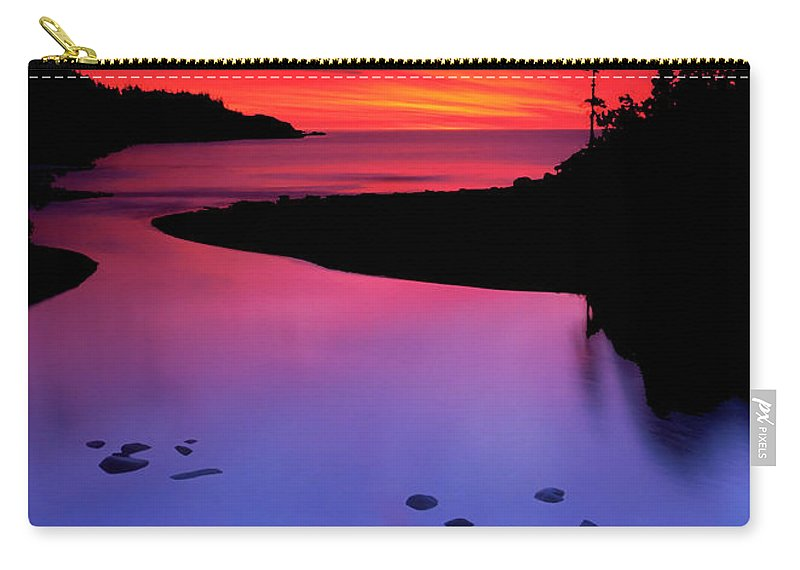 Nova Scotia Carry-all Pouch featuring the photograph Nova Scotia Sunrise by Dave Mills