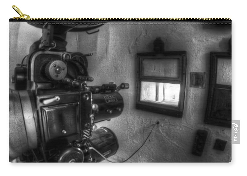 Antique Carry-all Pouch featuring the photograph Now Playing by Nathan Wright