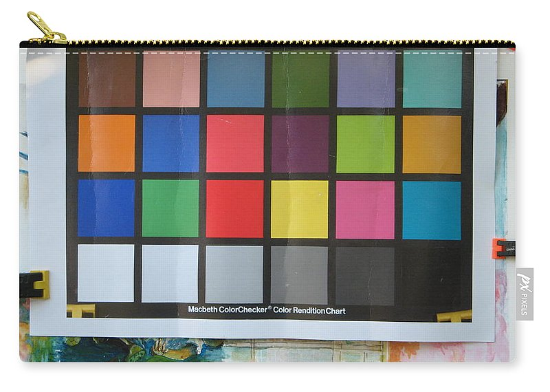 Carry-all Pouch featuring the photograph Number 11 by Rich Franco