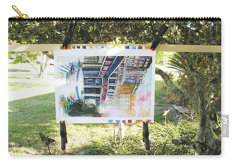 Carry-all Pouch featuring the photograph Number 4 by Rich Franco