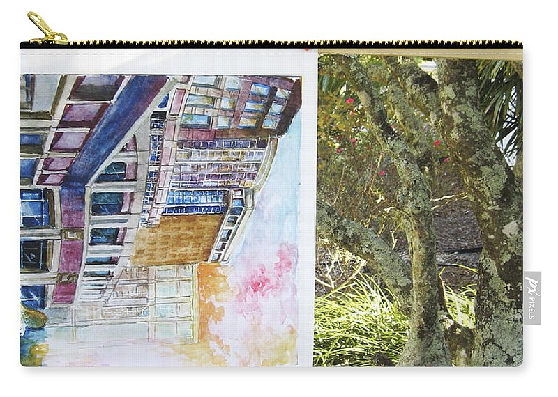 Carry-all Pouch featuring the photograph Number 5 by Rich Franco