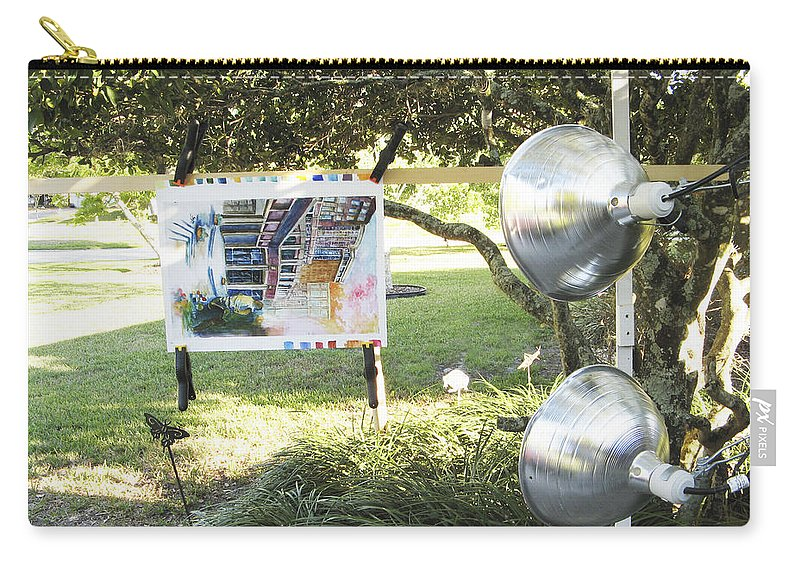 Carry-all Pouch featuring the photograph Number 7 by Rich Franco