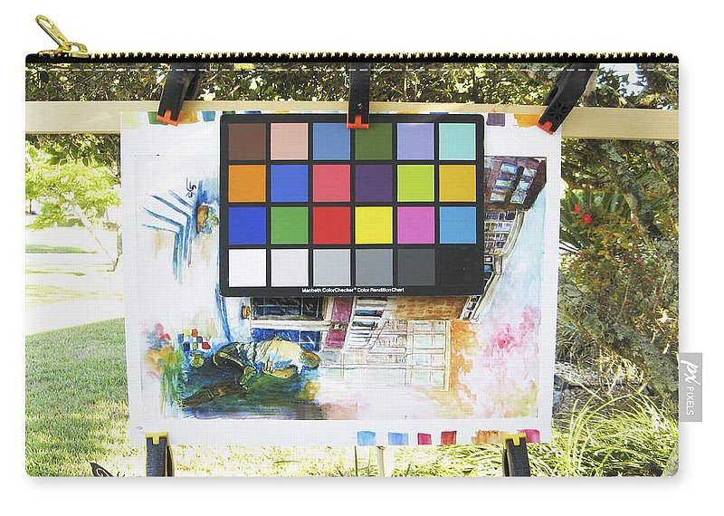 Carry-all Pouch featuring the photograph Number 9 by Rich Franco