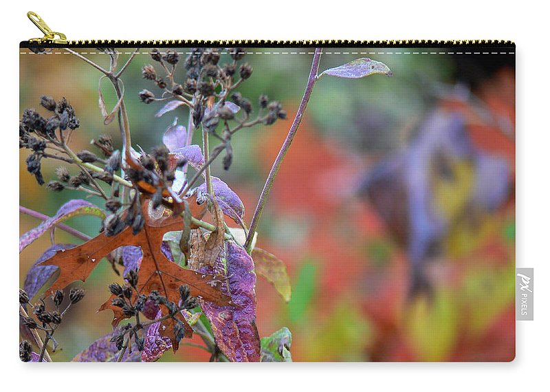 Ny Carry-all Pouch featuring the digital art Ny Fall 2 by Ericamaxine Price