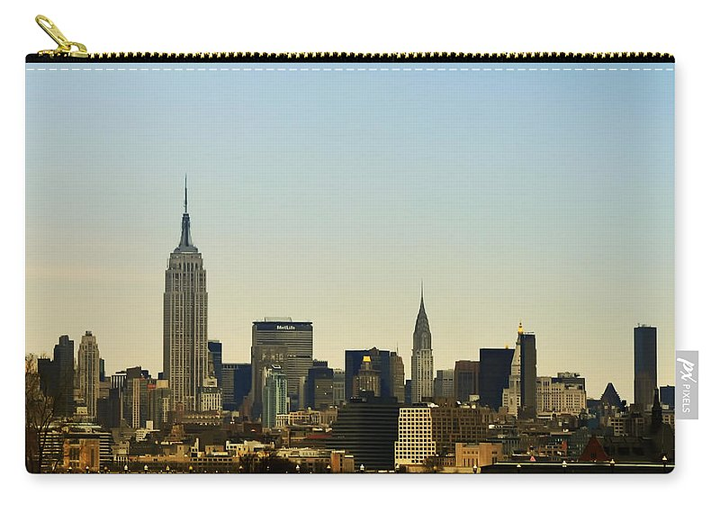 Nyc Carry-all Pouch featuring the photograph NYC by Bill Cannon