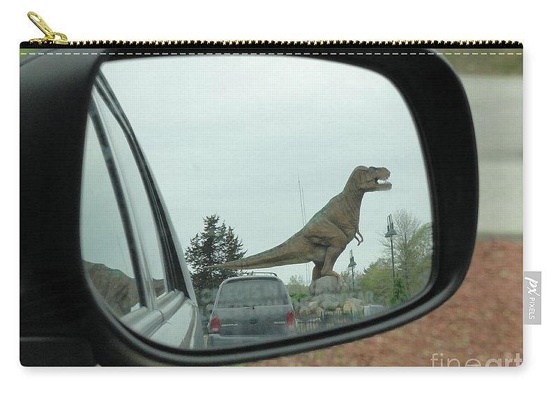 Objects In Mirror May Be Closer Than >> Objects In Mirror May Be Closer Than They Appear Carry All Pouch For