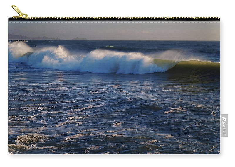 Ocean Carry-all Pouch featuring the photograph Ocean Of The God Series by Teri Schuster