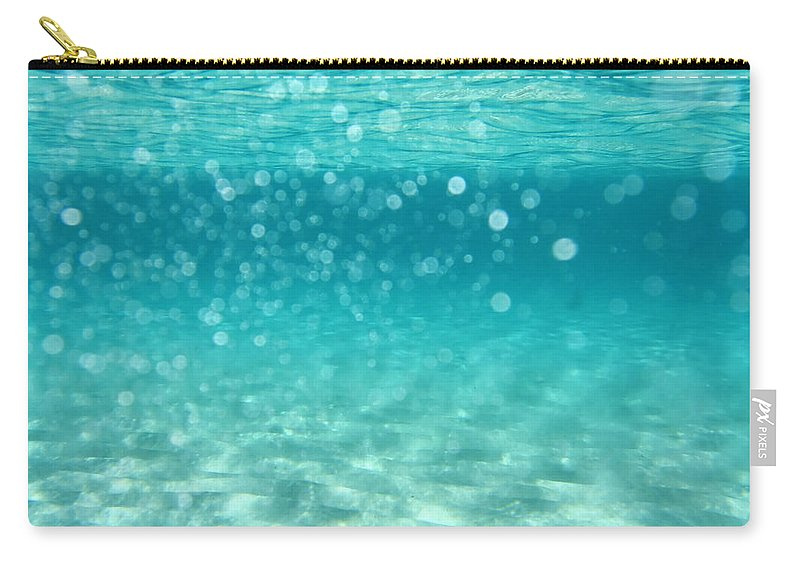 Air Carry-all Pouch featuring the photograph Ocean by Stelios Kleanthous