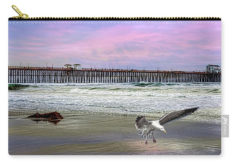 Beach Carry-all Pouch featuring the photograph Oceanside by Chris Lord