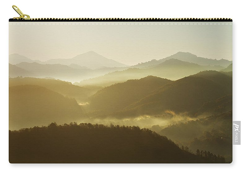 Transylvania Carry-all Pouch featuring the photograph October Morning by Mircea Costina Photography