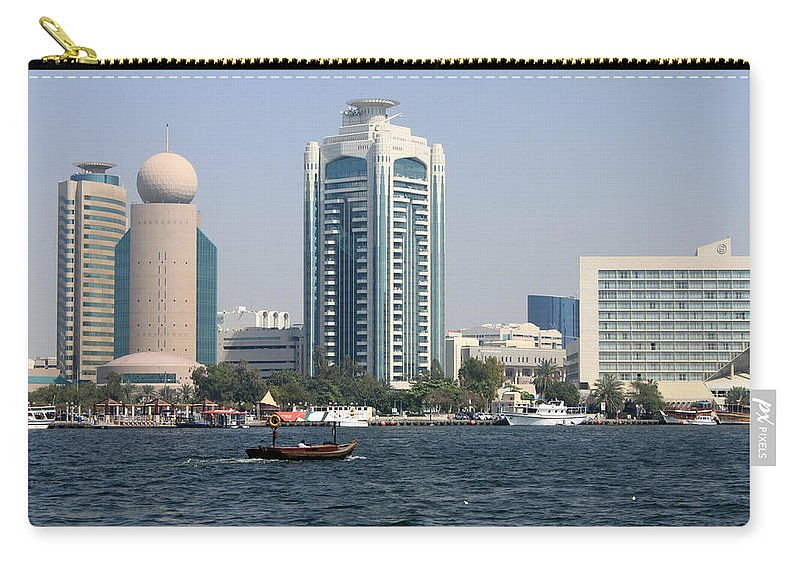 Old Carry-all Pouch featuring the photograph Old Dubai by Munir Alawi