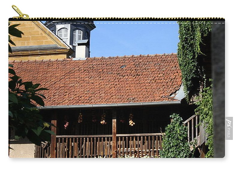 Old House Carry-all Pouch featuring the photograph Old Franconian House by Christiane Schulze Art And Photography