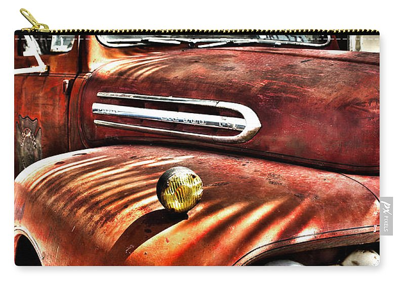 Fire Carry-all Pouch featuring the photograph Old Glory Days Limited Edition by Robin Lewis