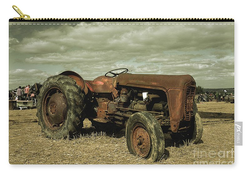 Massey Carry-all Pouch featuring the photograph Old Massey by Rob Hawkins