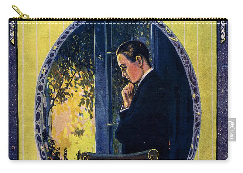Classic Carry-all Pouch featuring the photograph Old Pal by Mel Thompson