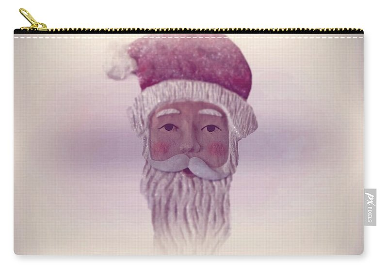 Santa Claus Carry-all Pouch featuring the photograph Old Saint Nicholas by David Dehner