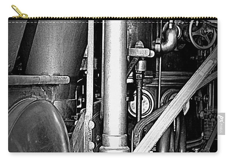 Steam Carry-all Pouch featuring the photograph Old Steam by Kevin Fortier