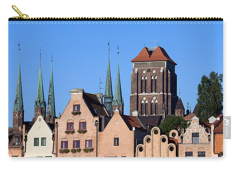 Gdansk Carry-all Pouch featuring the photograph Old Town In Gdansk by Artur Bogacki