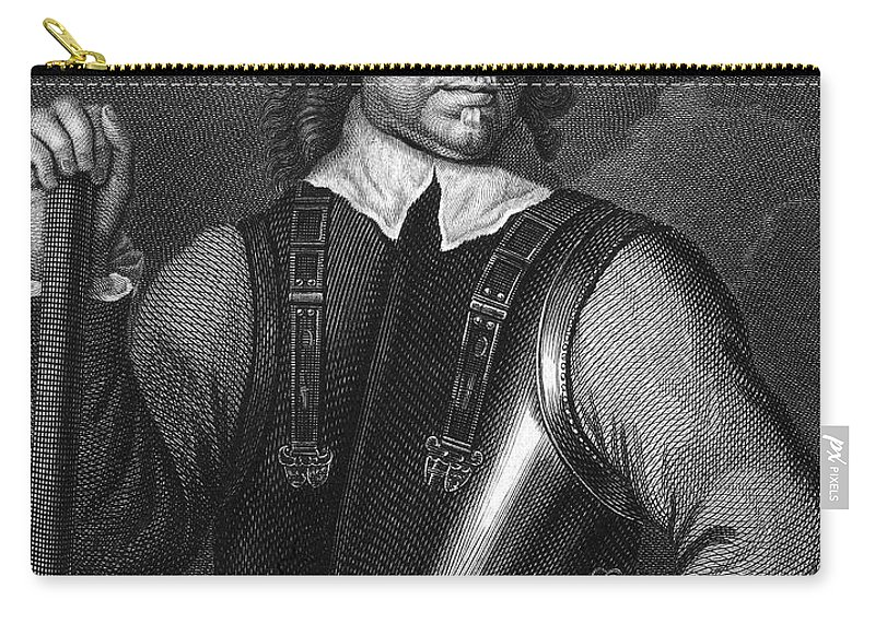 Armor Carry-all Pouch featuring the photograph Oliver Cromwell (1599-1658) by Granger