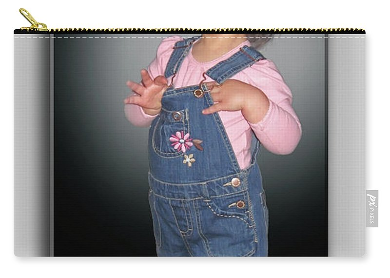2d Carry-all Pouch featuring the photograph Olivia by Brian Wallace