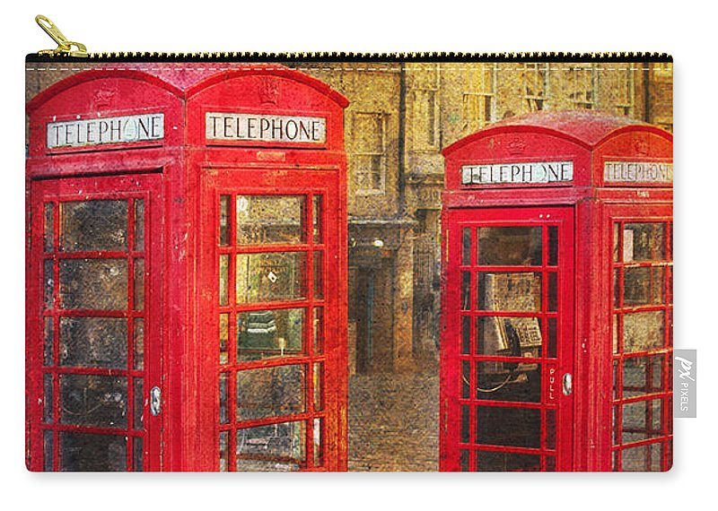 Architecture Carry-all Pouch featuring the photograph On The Streets Of Edinburgh by Svetlana Sewell