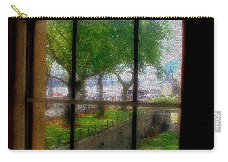Castle Carry-all Pouch featuring the photograph On The Thames by Priscilla Richardson