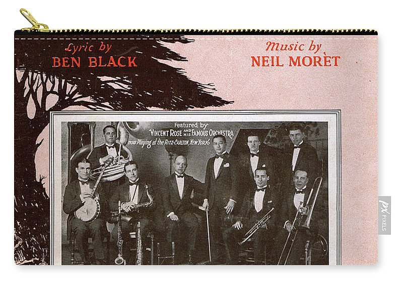 Classic Carry-all Pouch featuring the photograph On The Way To Monterey by Mel Thompson