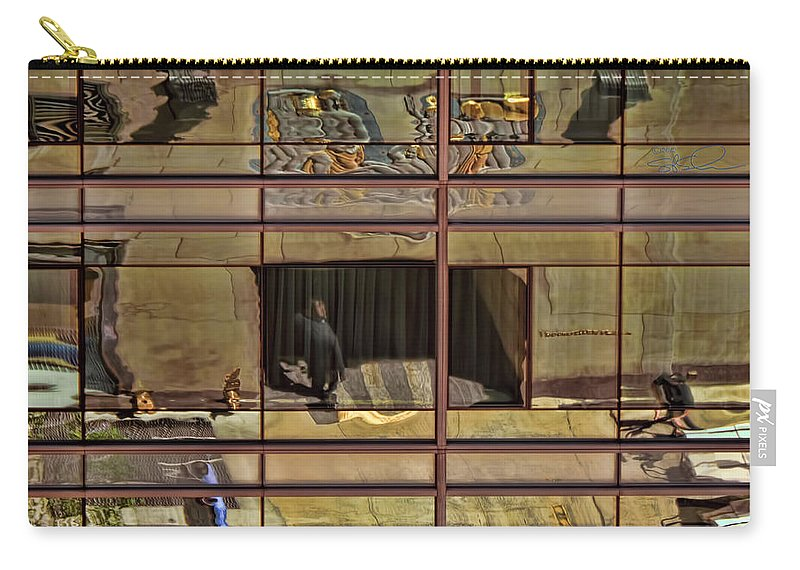 Rockefeller Center Carry-all Pouch featuring the photograph One Rock Center by S Paul Sahm