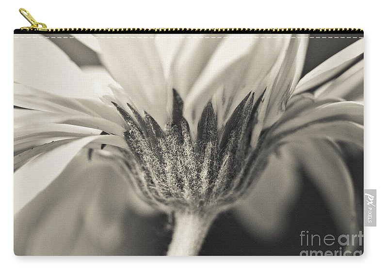 Flora Carry-all Pouch featuring the mixed media Opening Ceremony by Kim Henderson